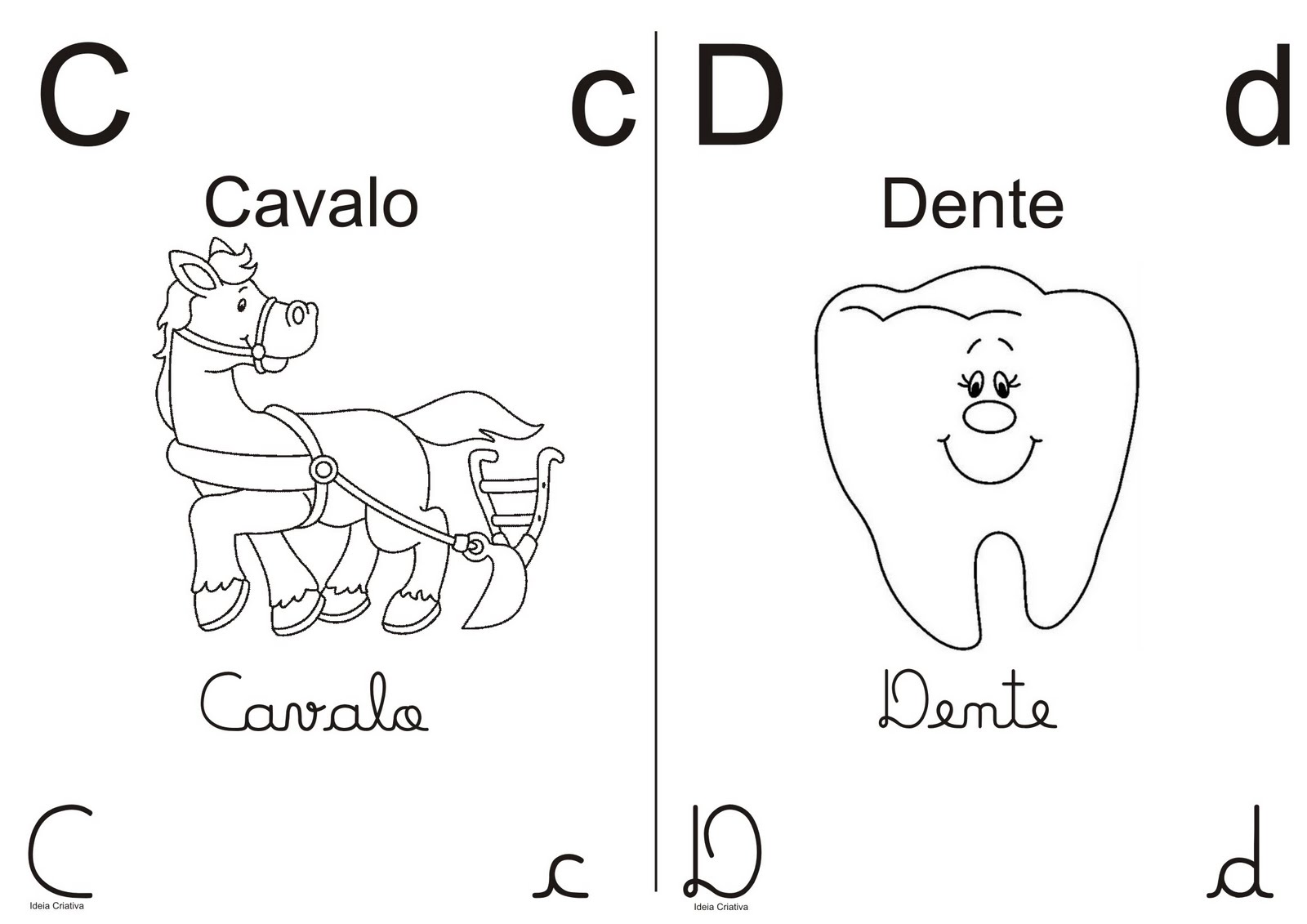 Desenho De Letra Z De Zoológico Para Colorir: Cantinho Da Pyp's: Alfabeto Para Colorir
