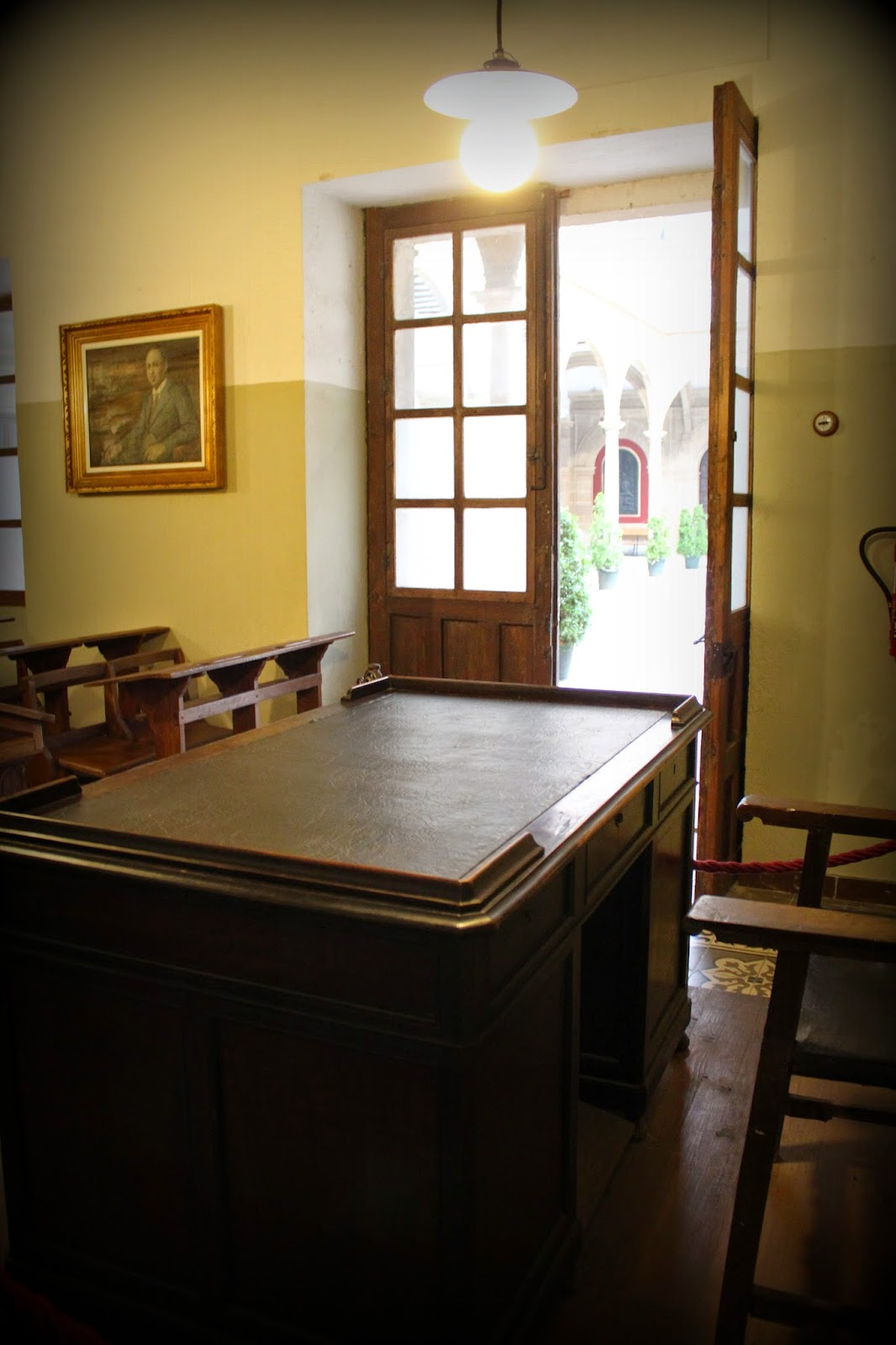 Aula de Antonio Machado en la Universidad de Baeza