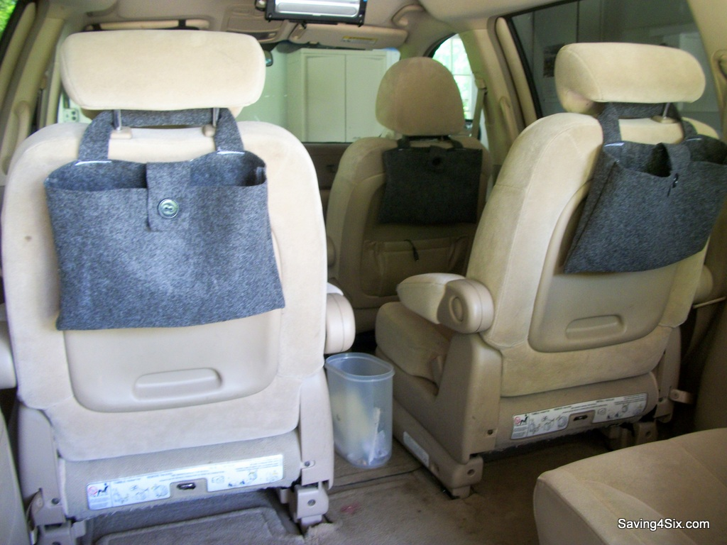 Easy Back Seat Bags For The Mini Van