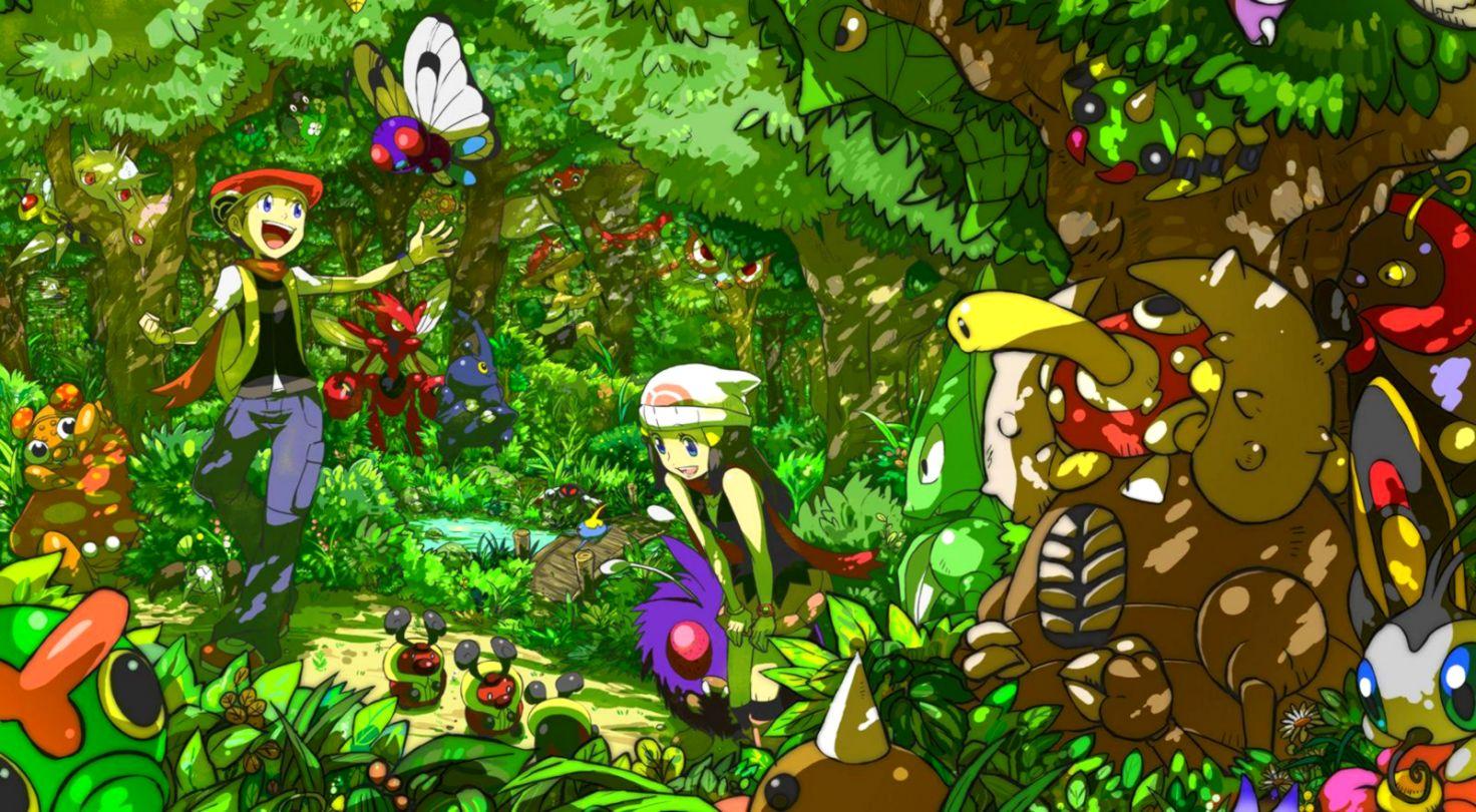 Pokemon Diamond And Pearl Wallpapers Like Wallpapers