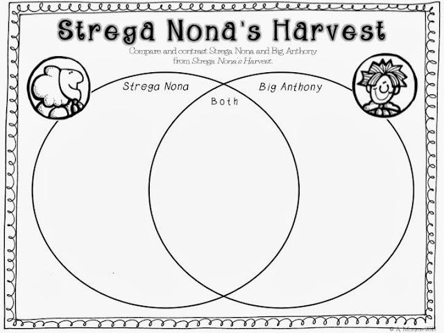 strega nona coloring pages - school is a happy place strega nona 39 s harvest a language