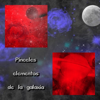 Pinceles elementos de la galaxia [Photoshop/Gimp][Uploaded]