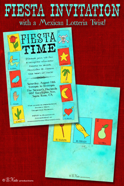 picture regarding Free Printable Fiesta Invitations referred to as bnute productions: Fiesta Invitation Influenced by means of Mexican