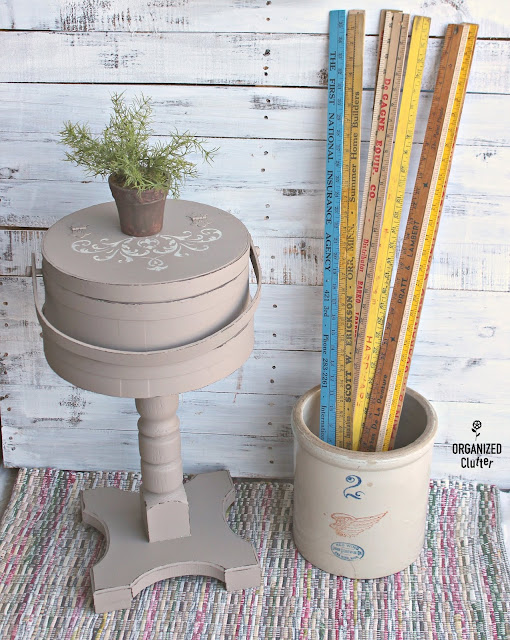Adding Legs to Rustic Decor Pieces #thriftshopmakeover #rusticdecor #upcycle #repurposed