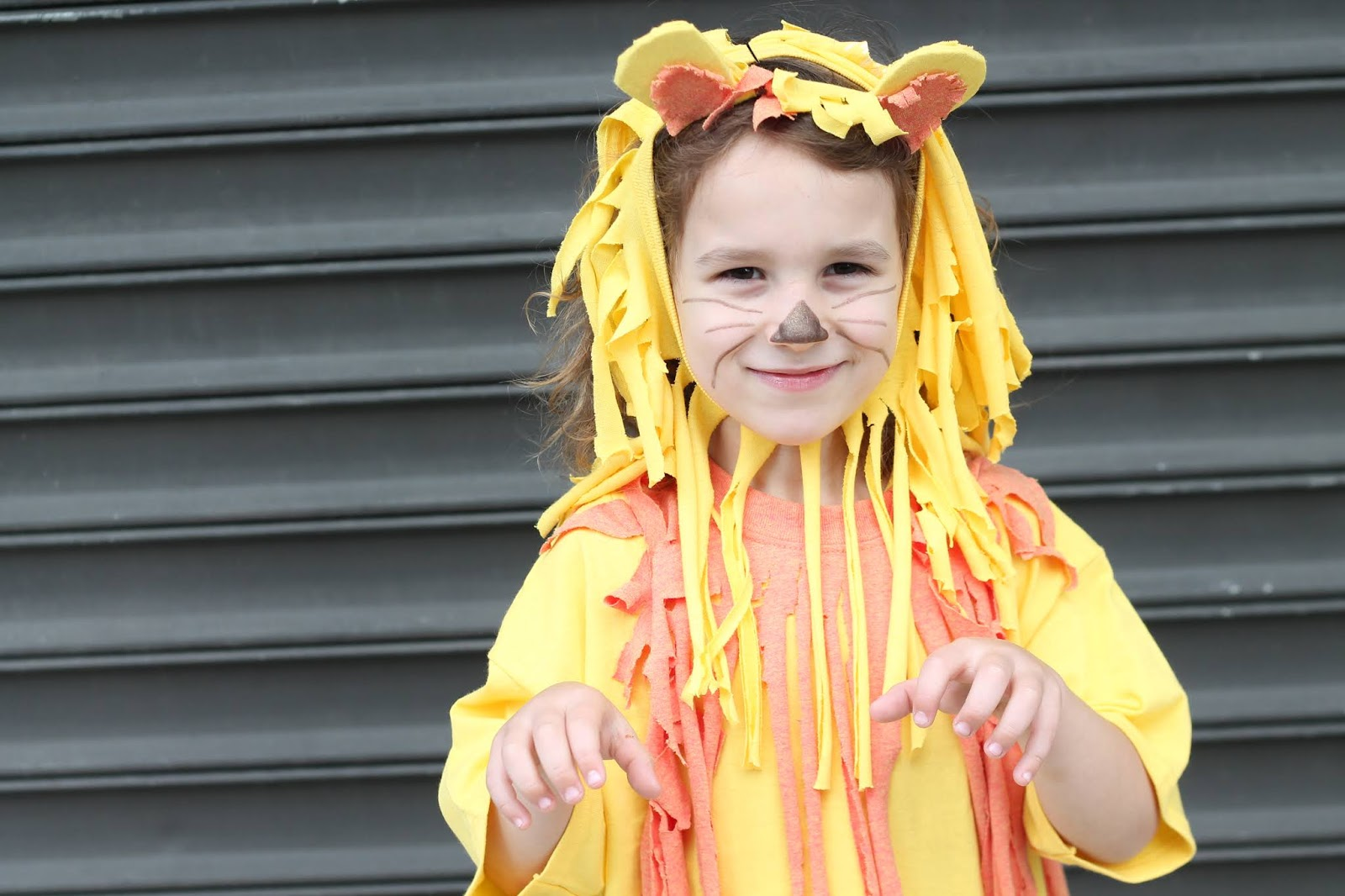 No Sew Diy Lion Costume Tfdiaries By Megan Zietz