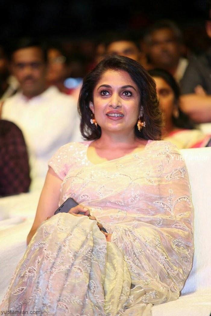 Ramya Krishnan wearing Saree Photos-Bahubali Actress is charming in Saree