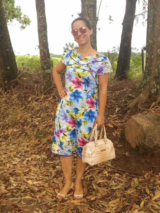 Vestido floral Cassia Segeti