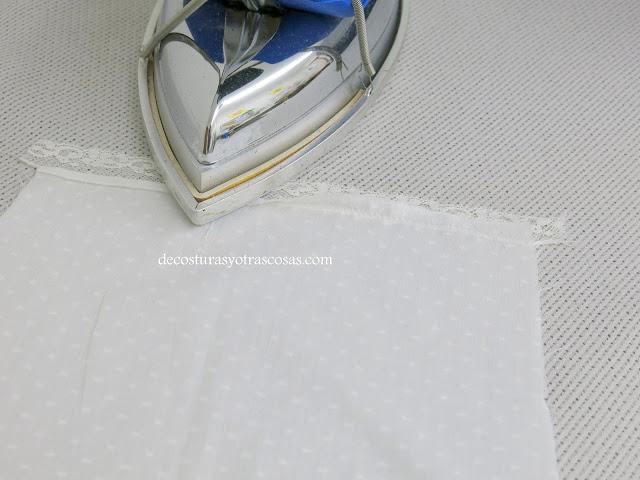 blusa plumeti con encajes