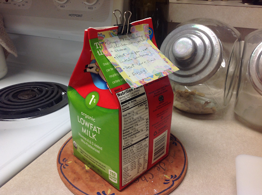 Milk Carton Reuse