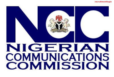 Application Form portal For 2018 NCC Recruitment - Nigeria Communication Commission Guidelines