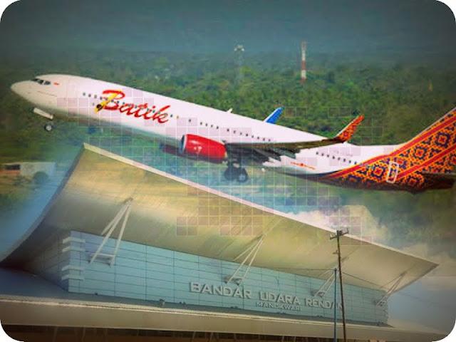 Batik Air akan Terbang Perdana Jakarta - Manokwari