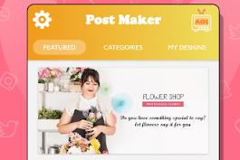 Review Aplikasi : Social Media Post Maker & Graphic Design