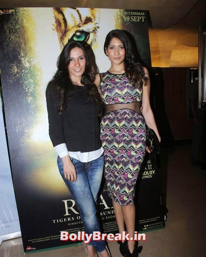 Ramona Arena, Himarsha Venkatsamy, Celebs at 'Roar' Movie First Look Launch