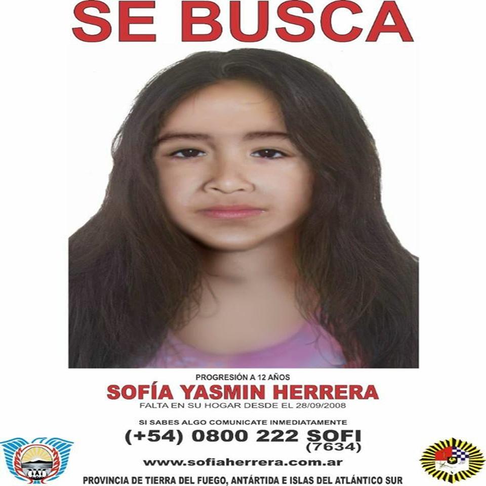 Sofia Herrera actualizacion del rostro