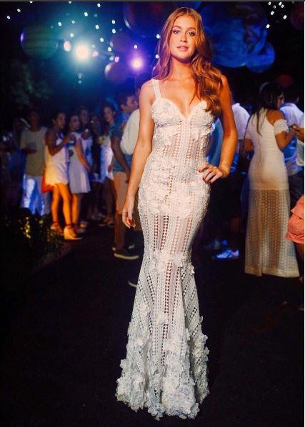 Marina Ruy Barbosa, vestido branco ano novo
