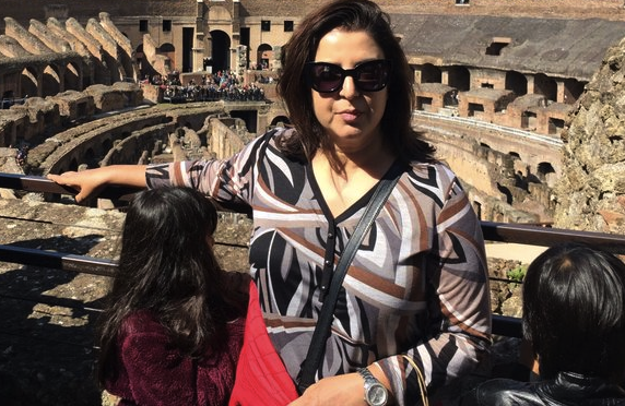 Farah Khan Enjoying Exotic Holiday In Italy