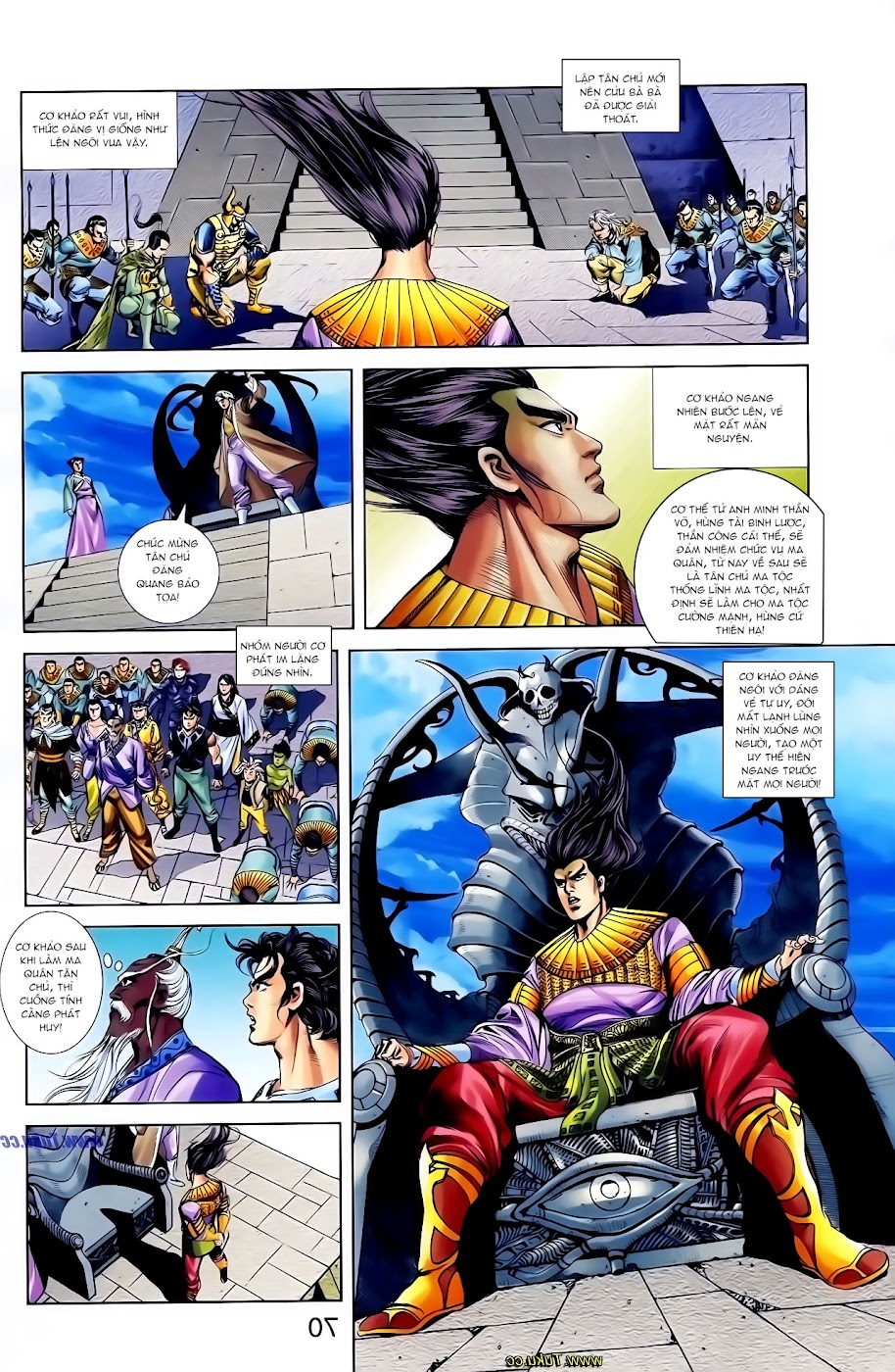 Cơ Phát Khai Chu Bản chapter 117 trang 29
