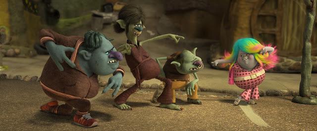 """Villanos de la película de los """"Trolls"""""""