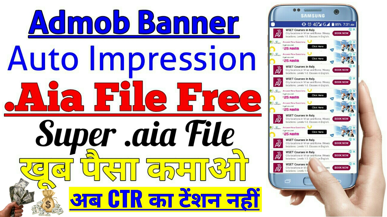 Auto Impression Thunkable aia file Free Download Aia and Apk
