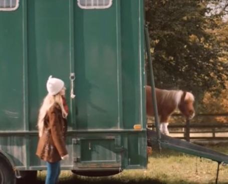 Amazon Prime Werbung Pony