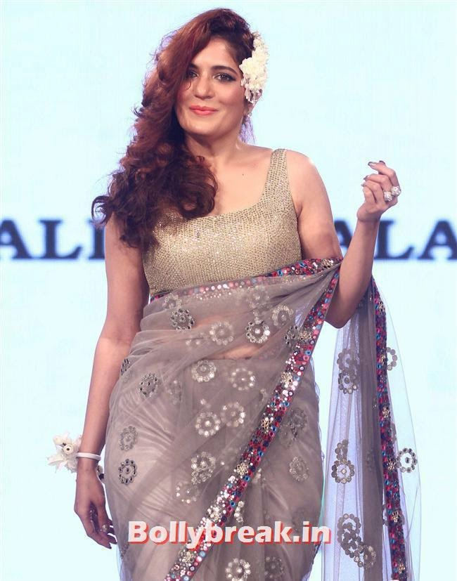 , Celebs Sizzle in Ramp at Charity Fashion Show of Smile Foundation