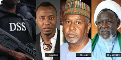 Dasuki, El-Zakzaky, Sowore Decided To Remain With Us, Says Dss