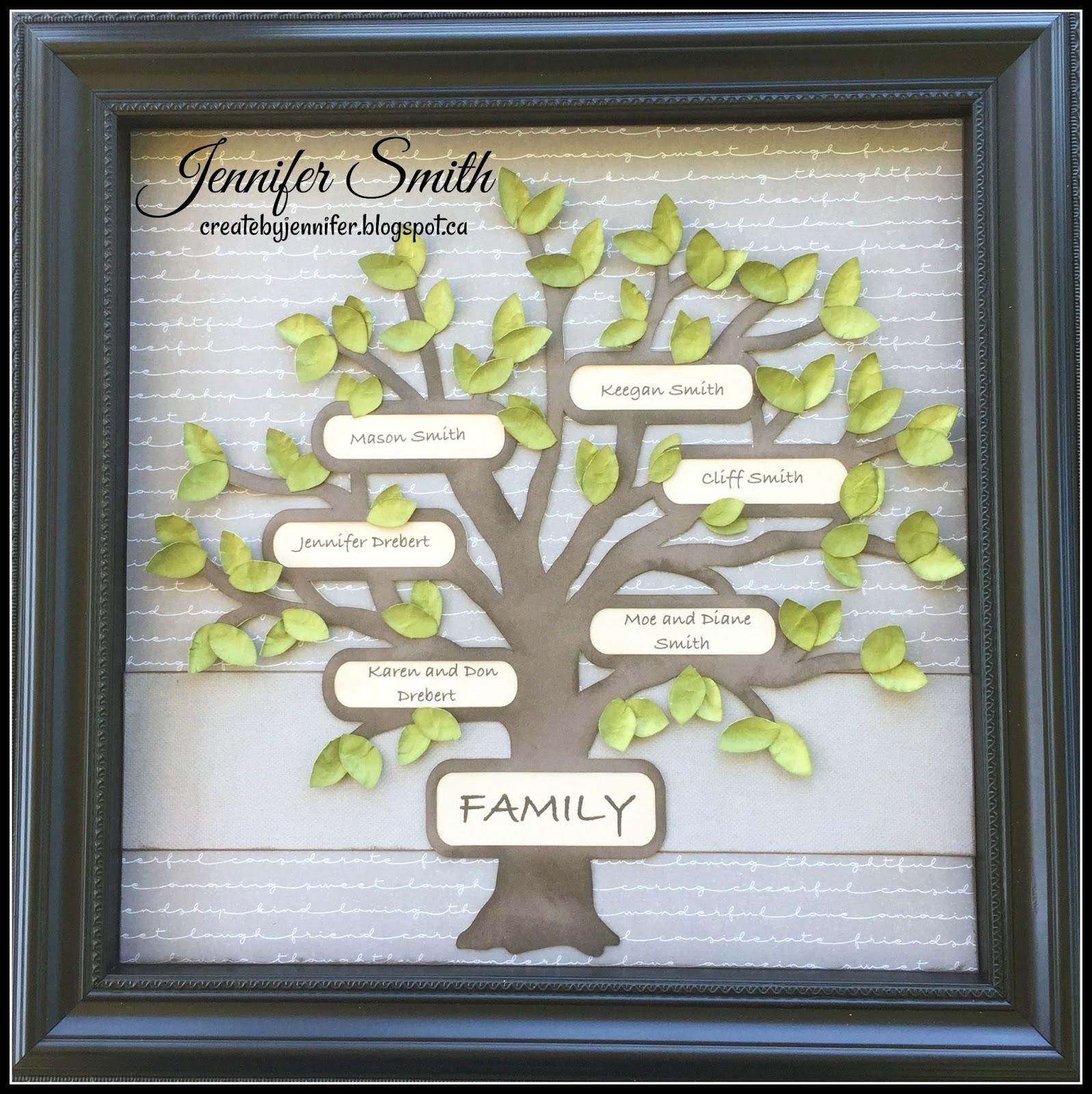 Create By Jennifer Family Tree