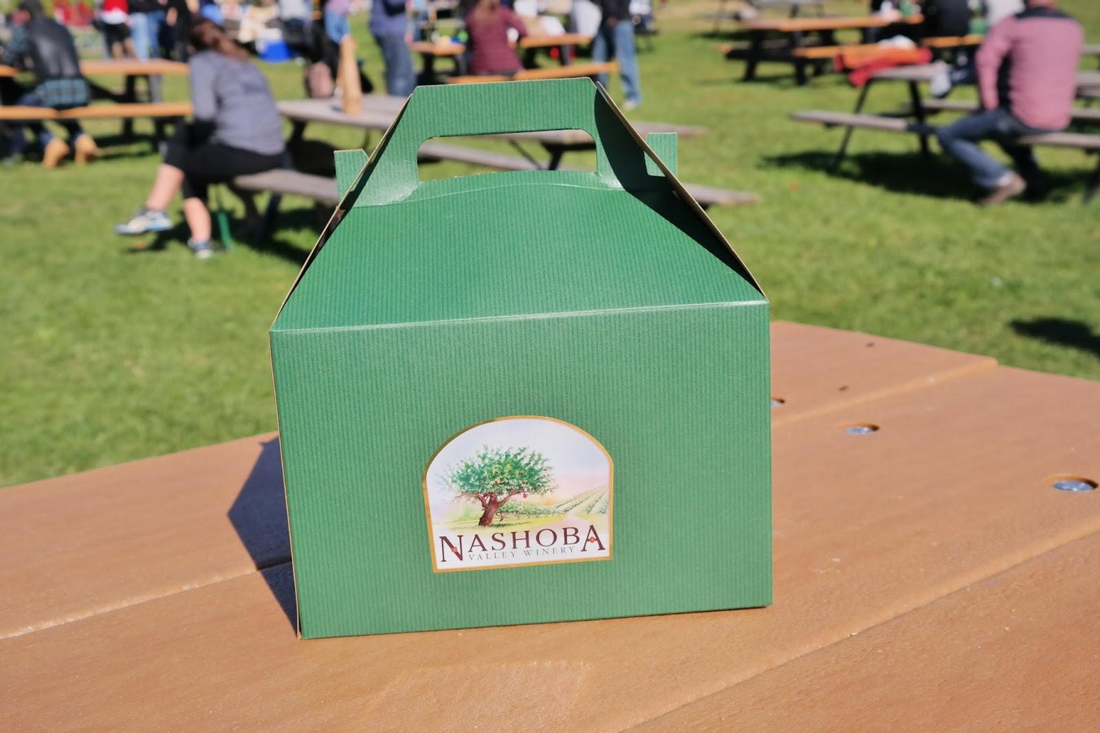 Lunch at Nashoba Valley Winery