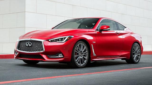 2017 Infiniti Q60 red