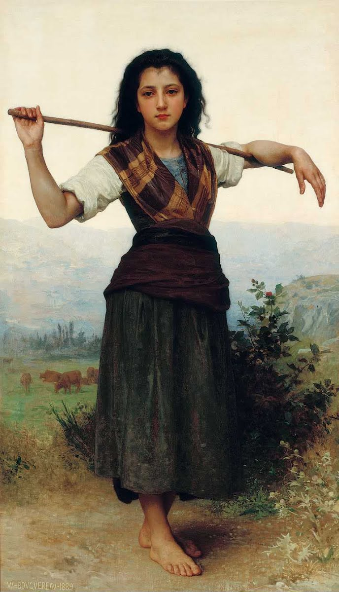 Toda Elegância nas pinturas de William Bouguereau