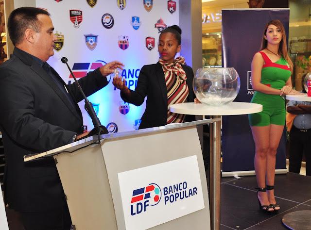Liga Dominicana de Fútbol realiza sorteo