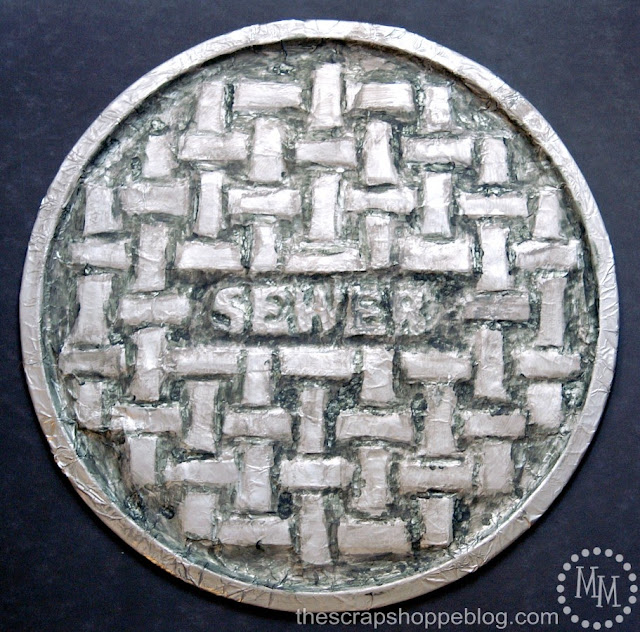 Diy 1 Manhole Cover The Scrap Shoppe