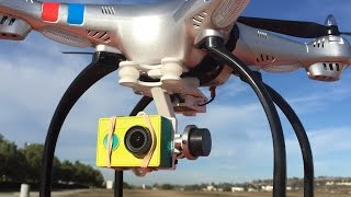 Drone Kuat Angkat Kamera Yi