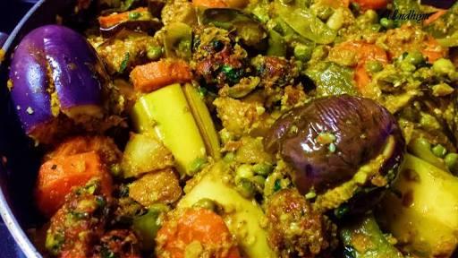 Mix veg Undhiyu Surti