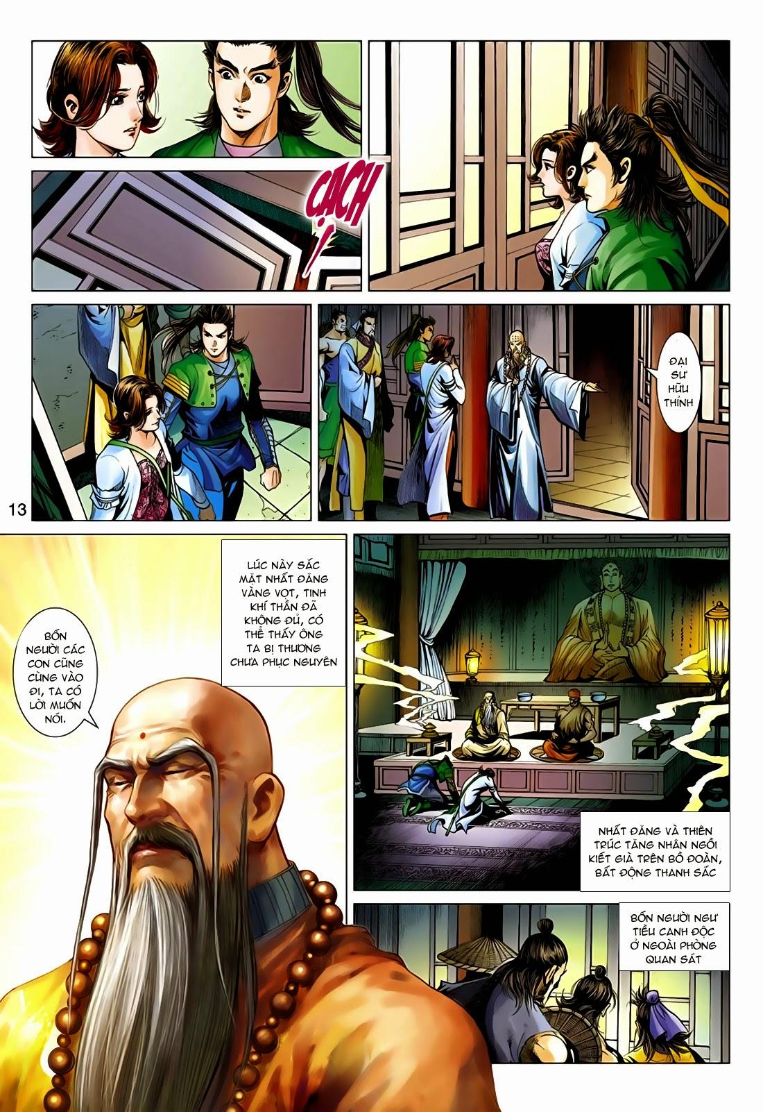 Anh Hùng Xạ Điêu anh hùng xạ đêu chap 75: hoàng thành cựu sự trang 13