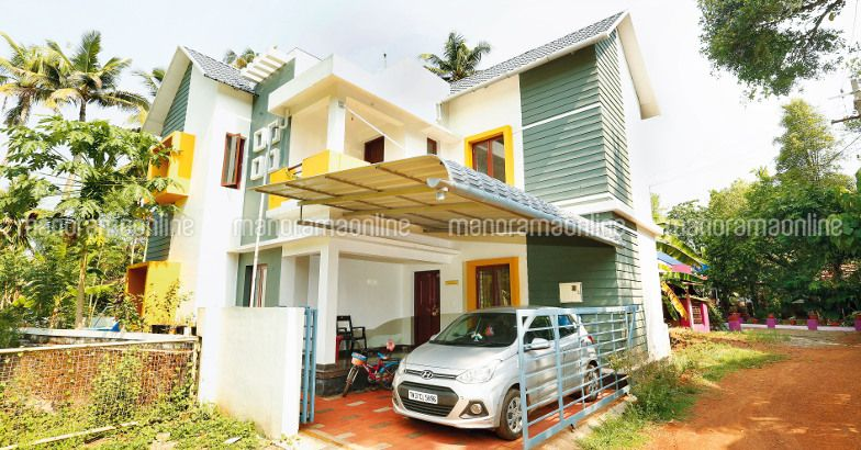 Renovation of old house to stunning new generation home in Old home renovation in kerala