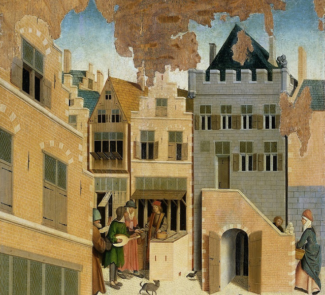 City dwellers in Middle Ages no worse off than village dwellers