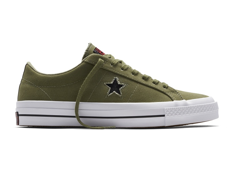 Converse Counter Climate Collection - Falal/Winter 2016 | Converse Cons One Star Shield Canvas - Lava  (SRP: Php 4,250)