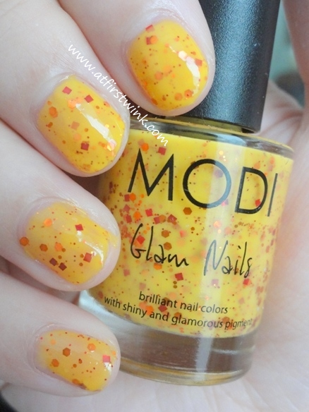 Modi nail polish 73 - Pumpkin Jelly