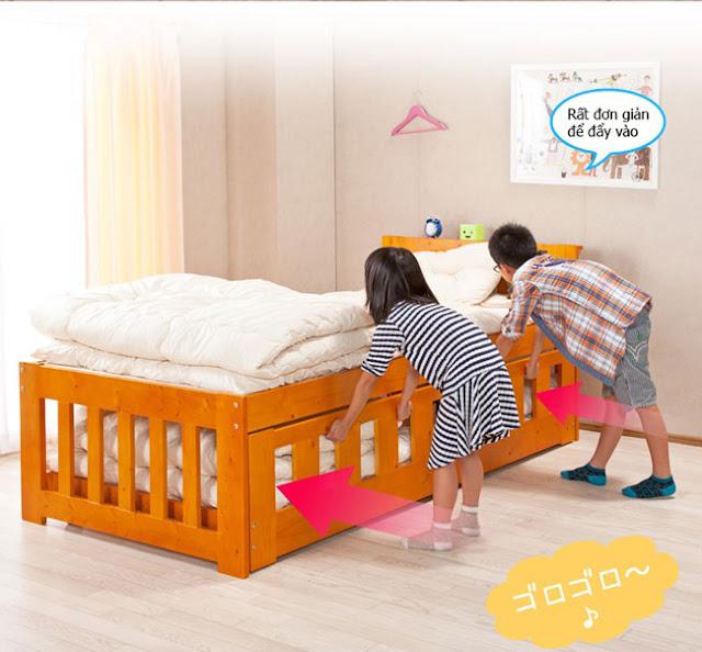 giường ngủ đa năng cho trẻ em