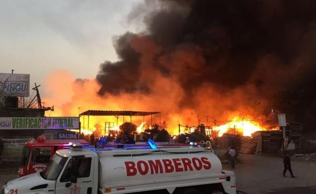 Edomex, incendios