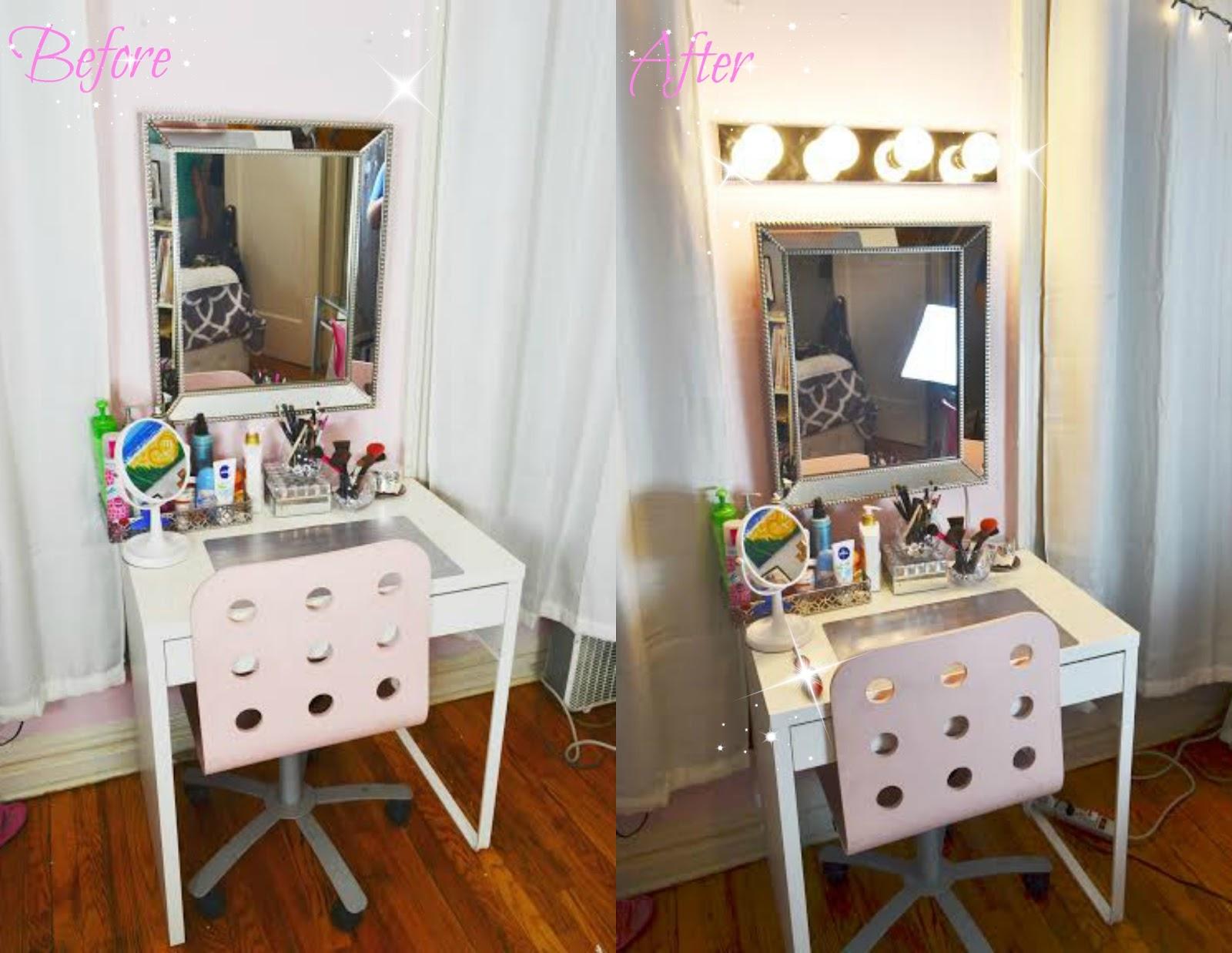 plug in vanity mirror lights. PicMonkey Image jpg DIY  VANITY MIRROR WITH LIGHTS Loved by Jessy