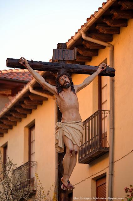 Santo Cristo del misterio de la Crucifixión. Cofradía del Dulce Nombre de Jesús Nazareno. León. Foto G. Márquez