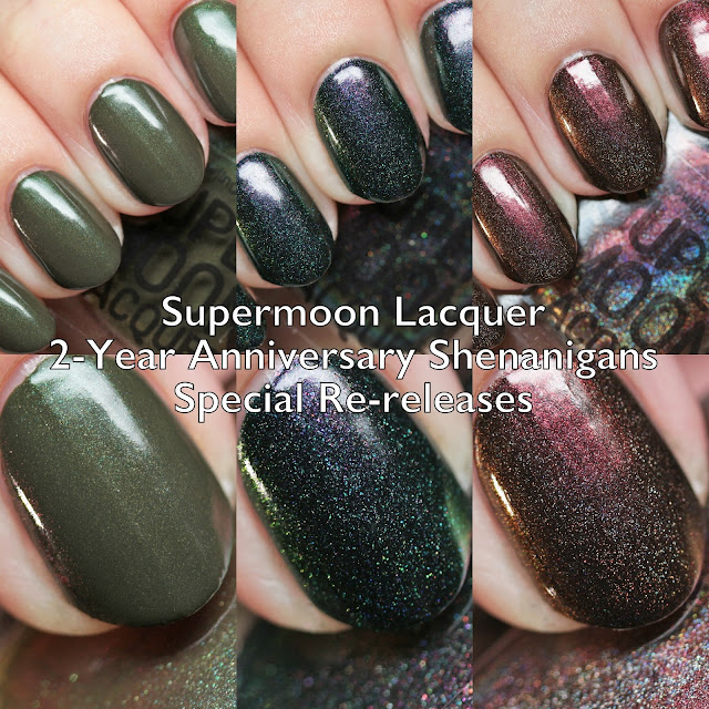 Supermoon Lacquer 2-Year Anniversary Shenanigans Special Re-releases