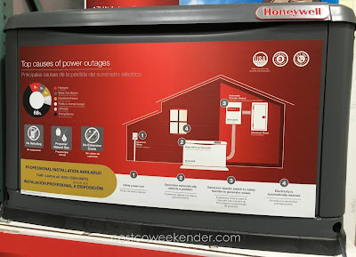 Costco 744054 - Generac Honeywell 17kW Automatic Standby Generator - great for power outages and emergencies