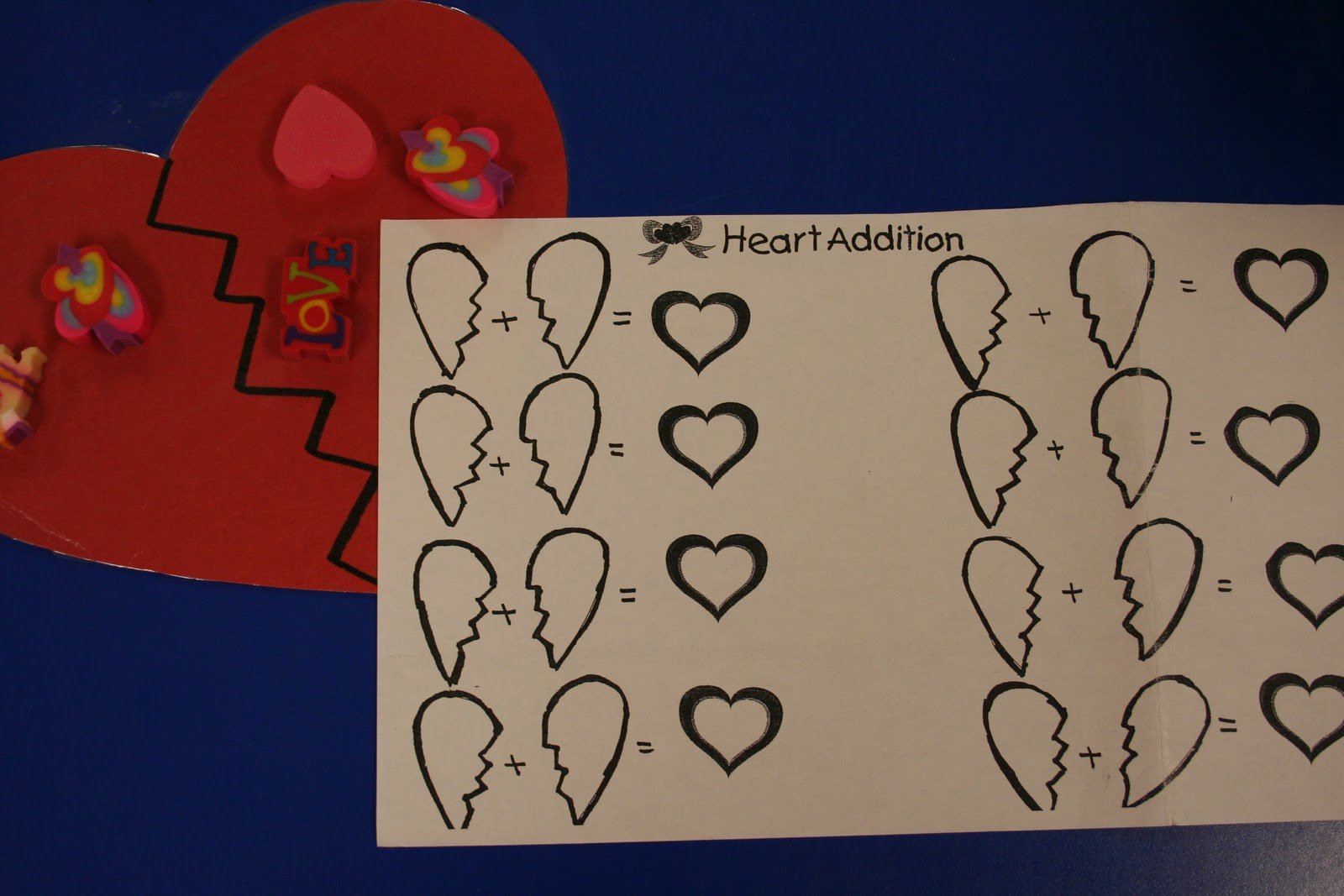 Mrs Lee S Kindergarten Valentine S Day Stuff And Goldilocks