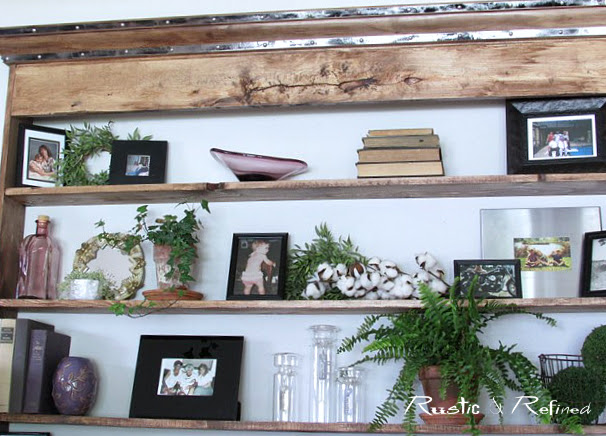 How to make your own rustic furniture that's cheap and easy.