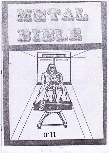 Portugal 80s Metal: BIBLIA METALICA FANZINE/ METAL BIBLE