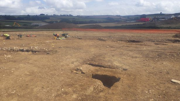 Archaeologists discover Britain's most south-westerly Roman town