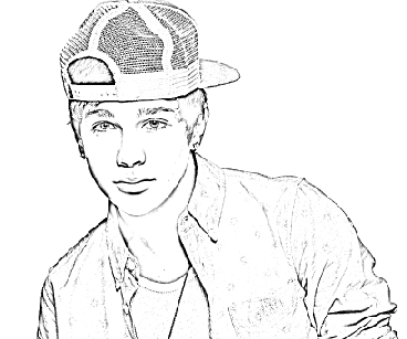 Austin Mahone Coloring Pages Coloring Pages